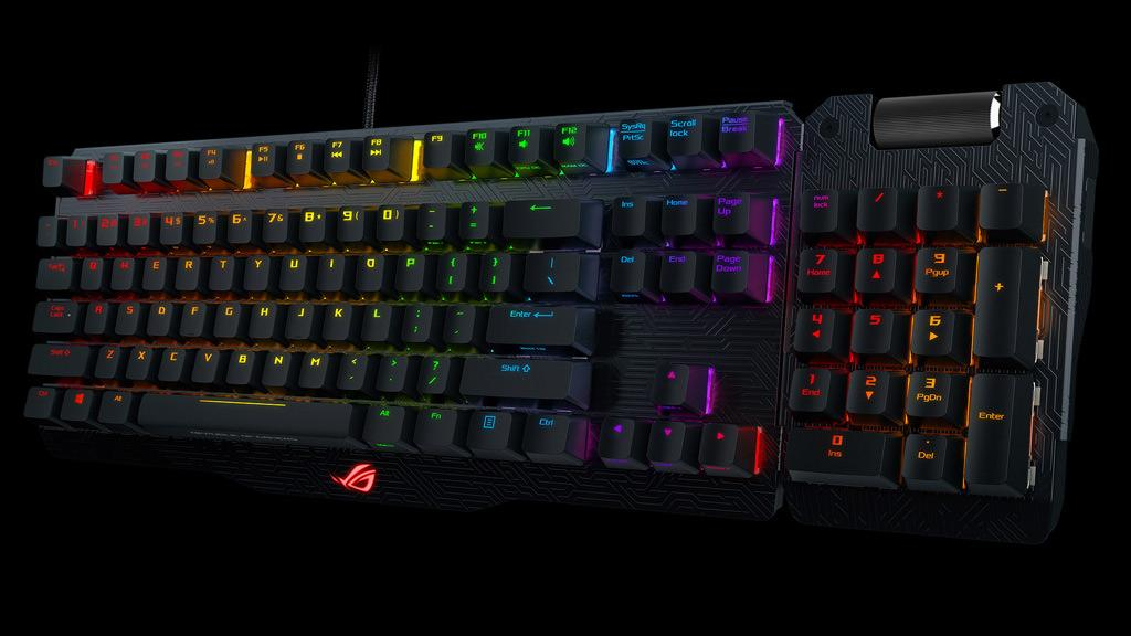 ASUS выпустила клавиатуру ROG Claymore и ROG Claymore Core