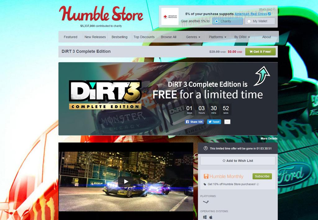 dirt3 complete edition free2