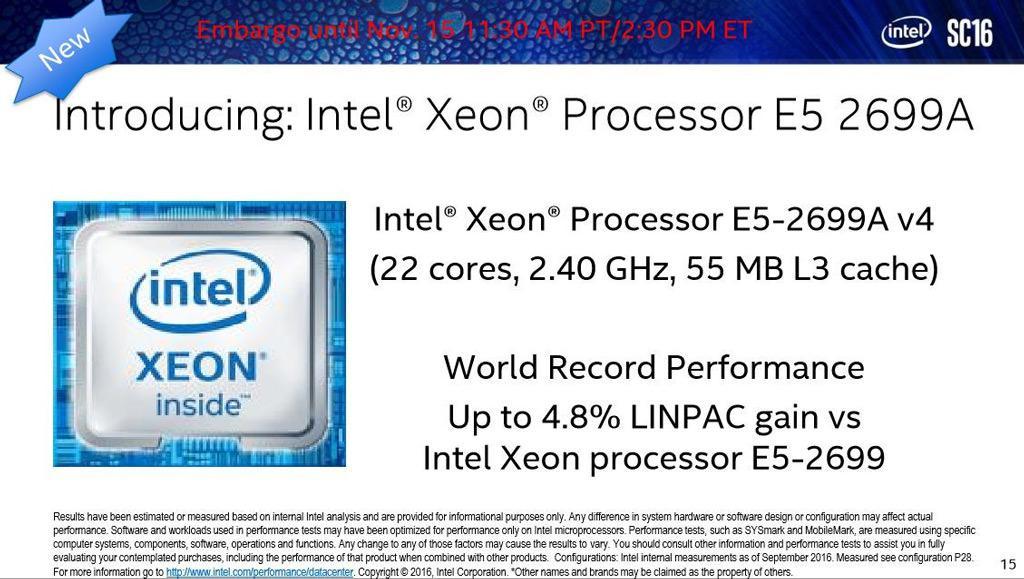 Intel Xeon E5 2699A v4 1