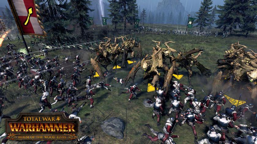 В скором времени ряды Total War: Warhammer пополнятся расой лесных эльфов