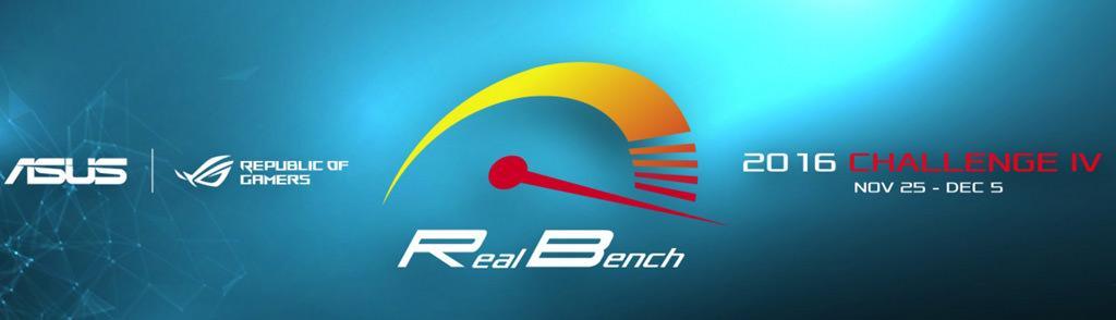 Скоро стартует 4 этап OC-турнира ASUS RealBench