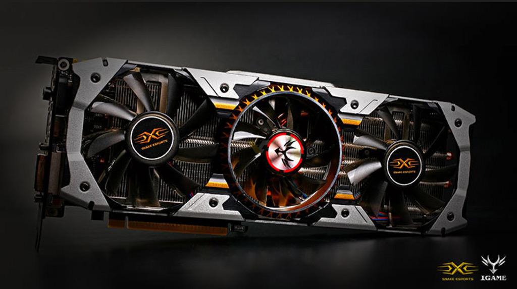 Colorful iGame GTX 1070 Snake X Top 3