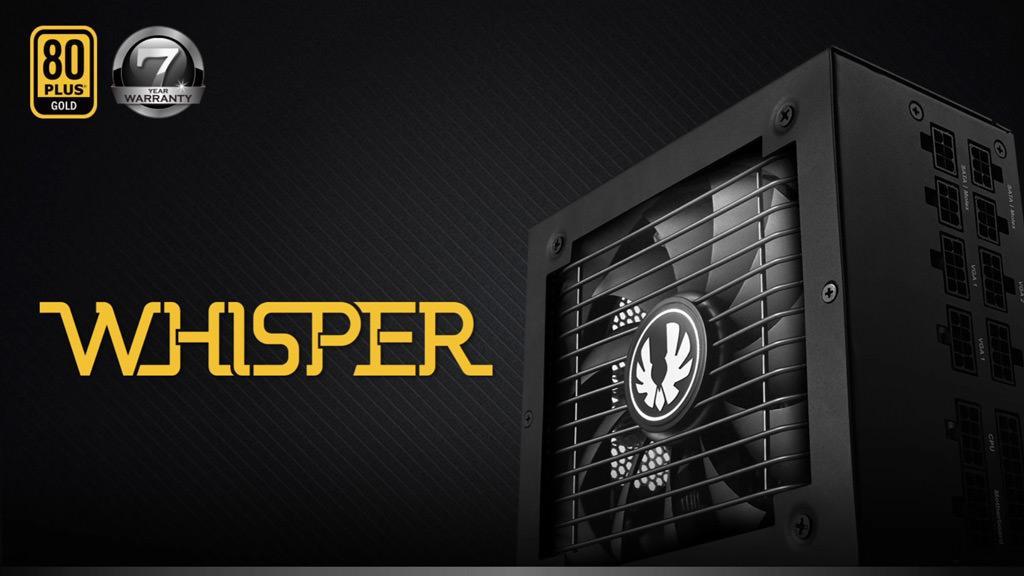 Whisper M – новая серия блоков питания от BitFenix