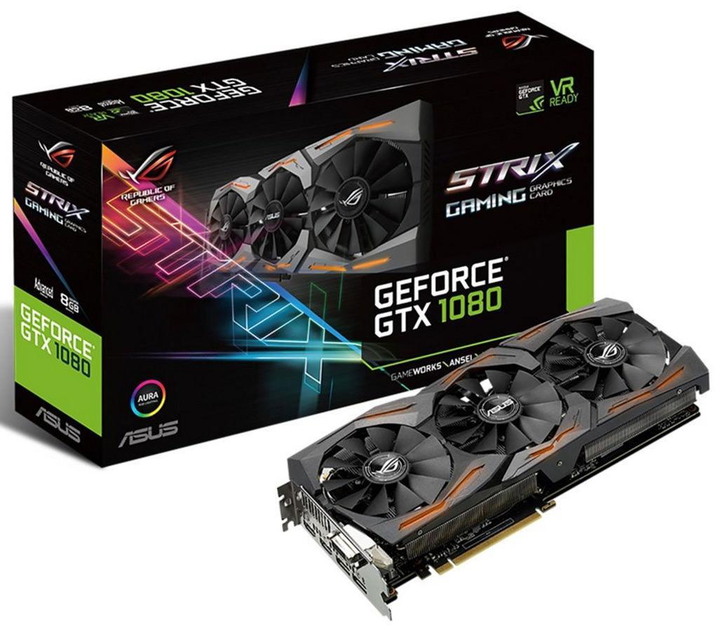 ROG Strix GeForce GTX 1080 A8G 1