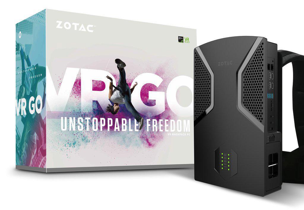 Стали известны полные характеристики VR-рюкзака от Zotac