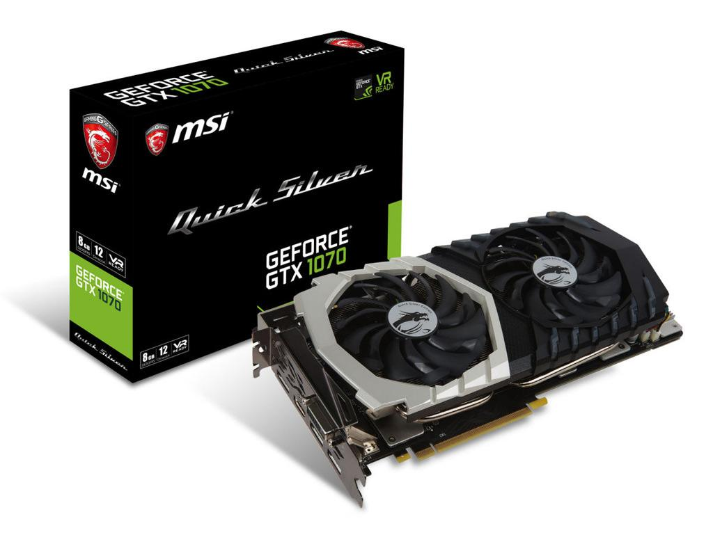 MSI GeForce GTX 1070 Quick Silver 1