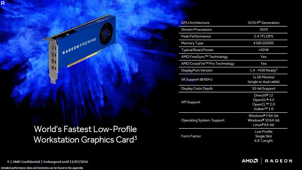 Radeon Pro WX 2
