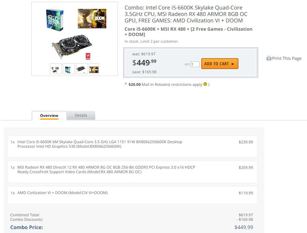 AMD Intel bundle 2