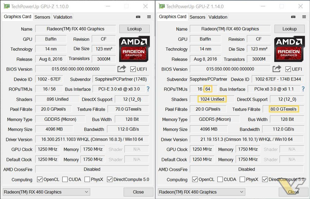 RX460 BIOS unlock 4