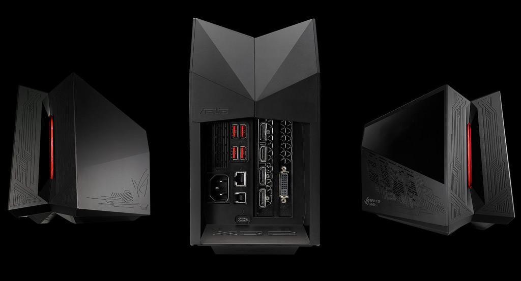 ASUS представила собственную док-станцию для видеокарт XG Station ROG2