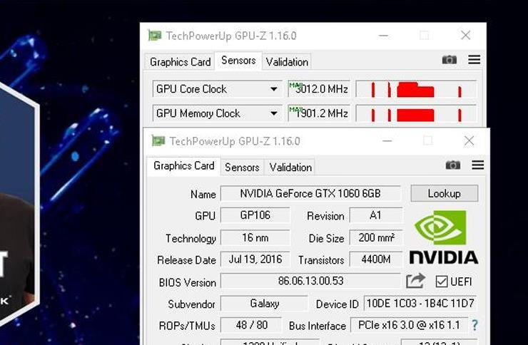 GPU Mhz World record 3