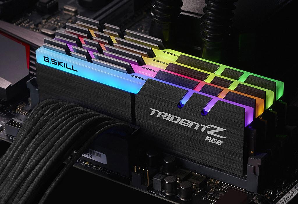 """G.Skill представила модули памяти Trident Z с """"революционной"""" RGB-подсветкой"""