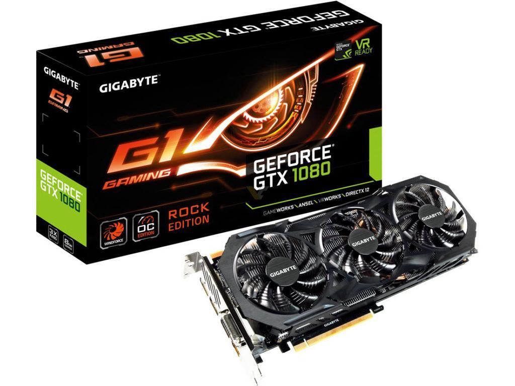 Gigabyte GTX 1070 1080 G1 Rock 2