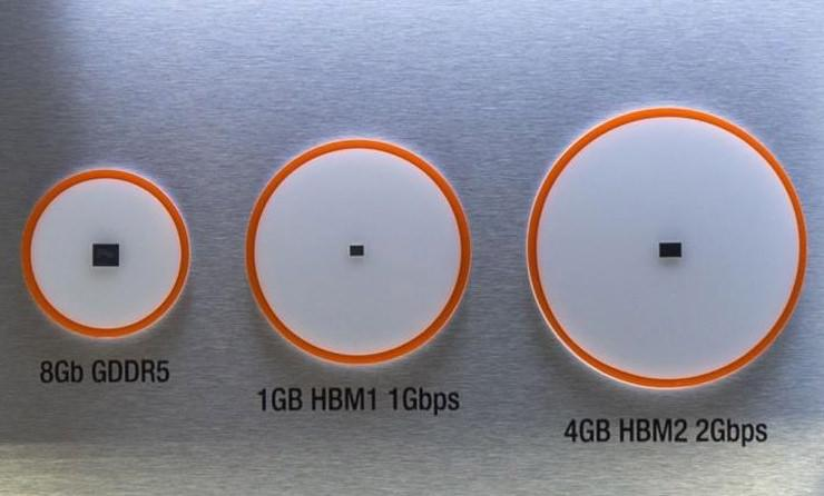 AMD Vega HBM2 GDDR 2