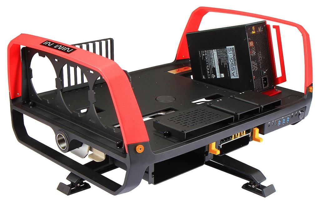 In Win выпустила открытый стенд X-Frame 2.0 за 1500 евро