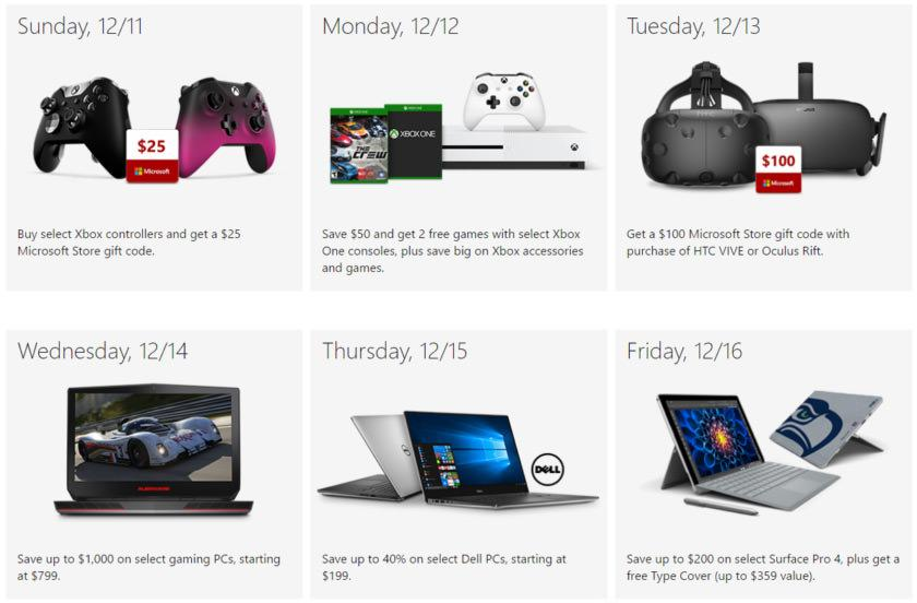 Microsoft 12 Days of Deals 2
