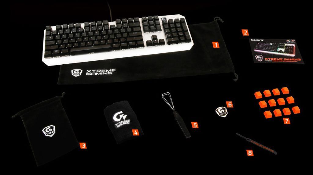 Gigabyte Xtreme Gaming XK700 5
