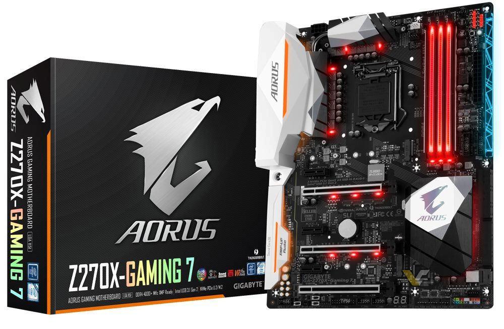 Aorus Z270X Gaming 7 1