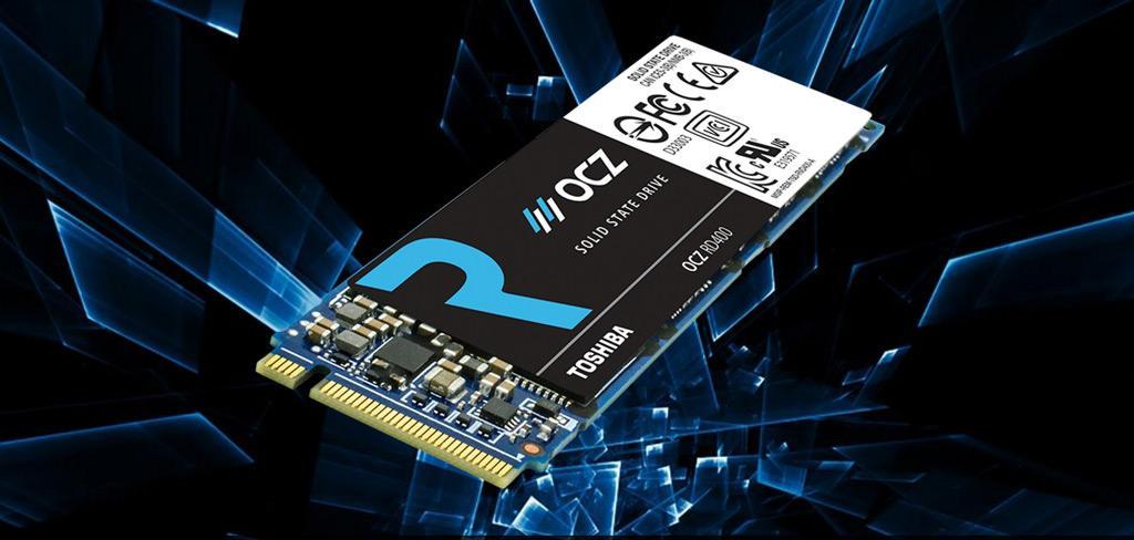Обзор NVMe SSD-накопителя Toshiba OCZ RD400 (RVD400-M22280-512G-A) объёмом 512 ГБ. 10 ГБ за 10 секунд