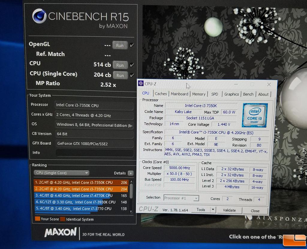 Intel Core i3 7350K 5GHz 2