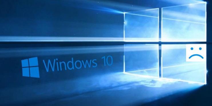 Windows 10 KB3213986 problem