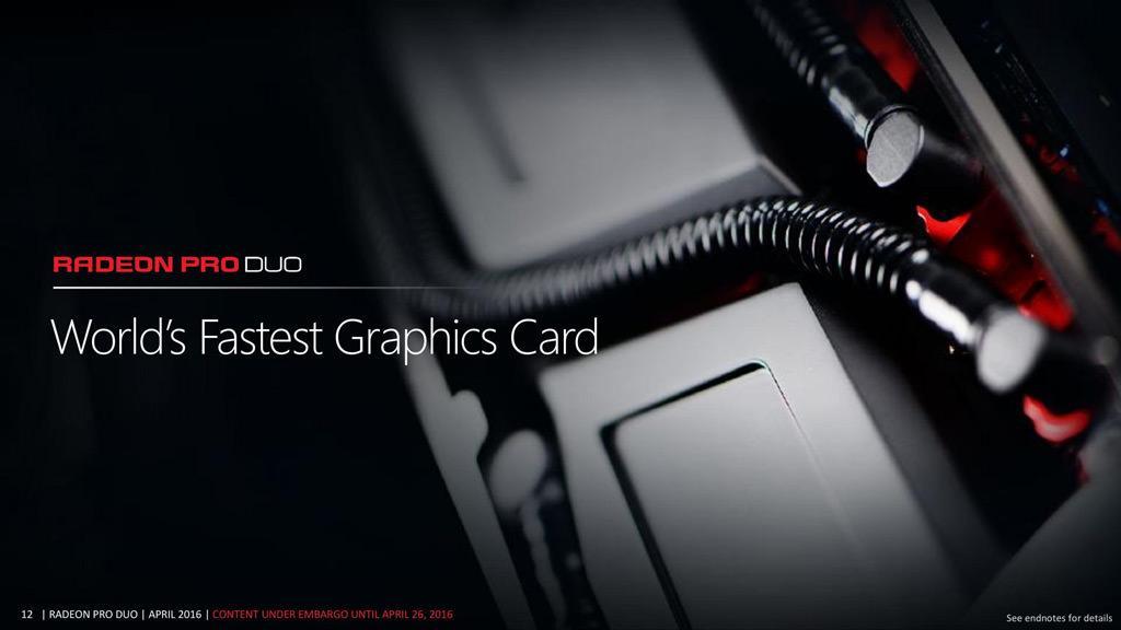 Двухчиповая AMD Radeon Pro Duo теперь стоит почти два раза дешевле