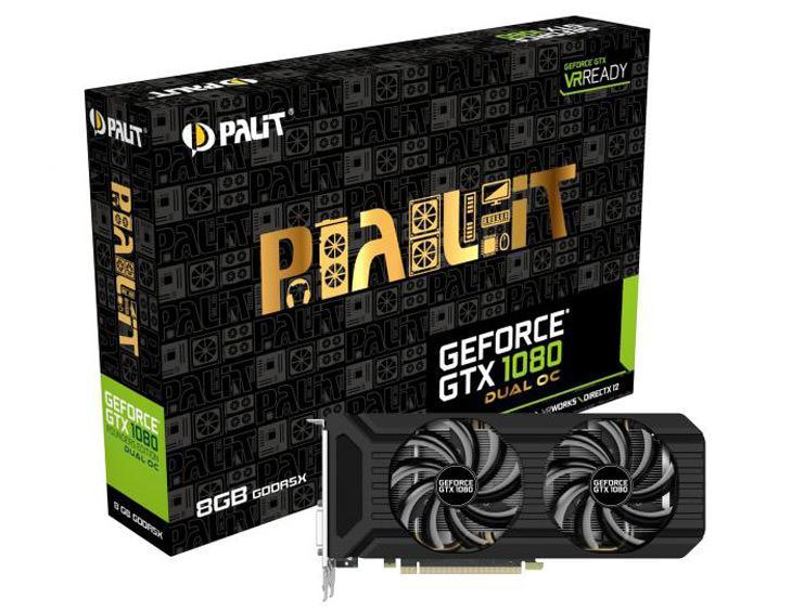 Palit GeForce GTX 1080 Dual OC 1