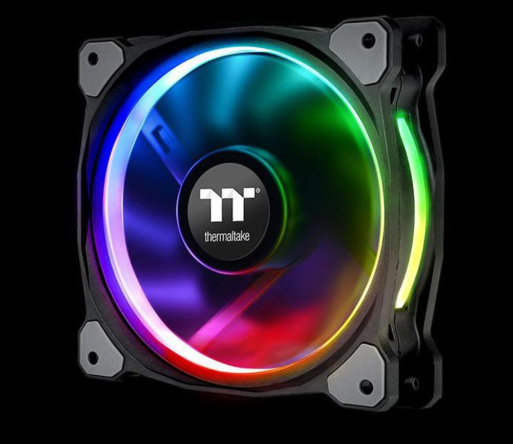 Thermaltake выпустила вентиляторы Riing Plus 120 LED RGB