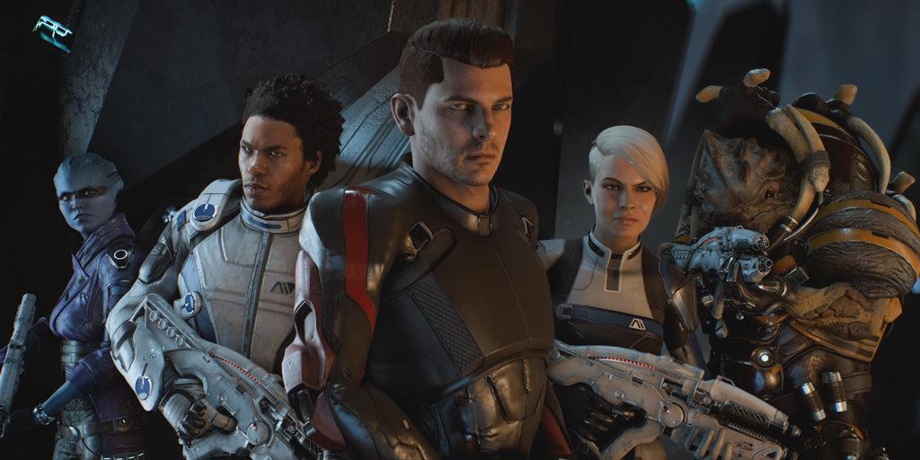 В новом трейлере Mass Effect: Andromeda показана новая раса