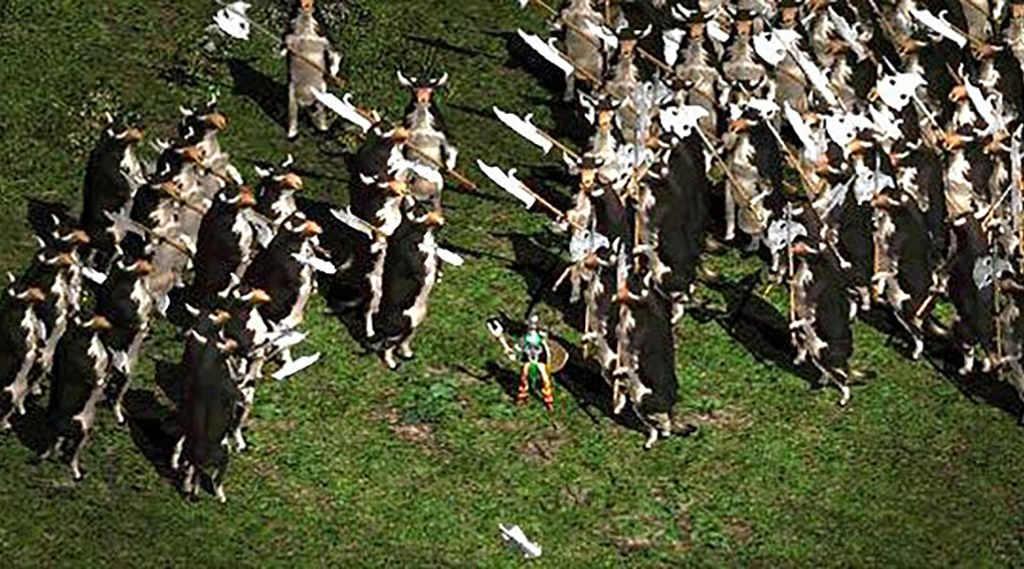 В World of Warcraft в честь 20-летия Diablo появился собственный cow level