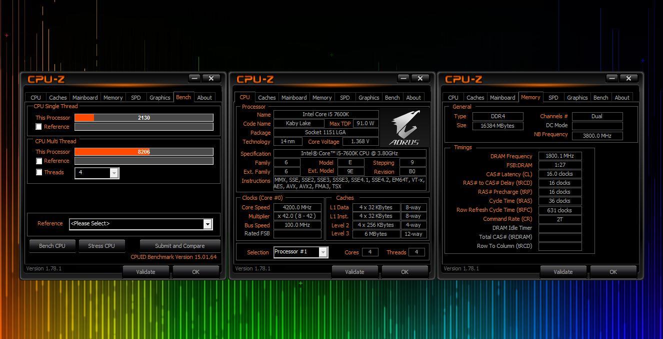 AMD Ryzen 5 1600X 3