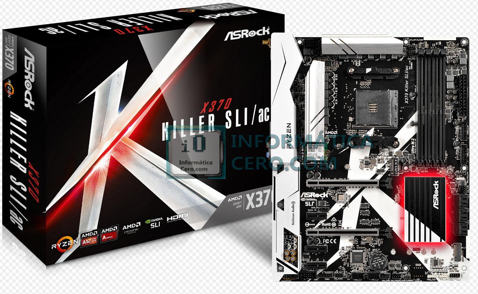 ASRock X370 Killer SLIac