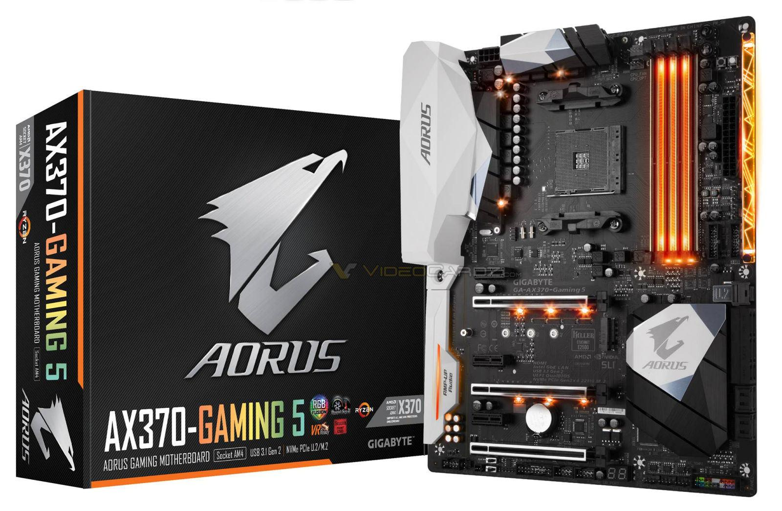 Gigabyte AORUS AX 370 Gaming 5
