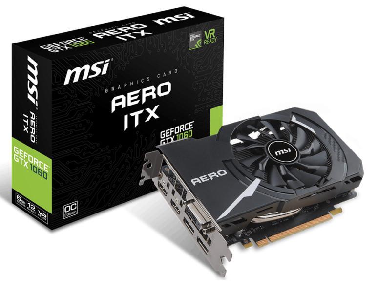MSI GeForce GTX 1060 AERO ITX
