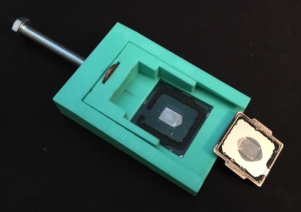 Инструмент для скальпирования процессоров на 3D-принтере. Версия 2