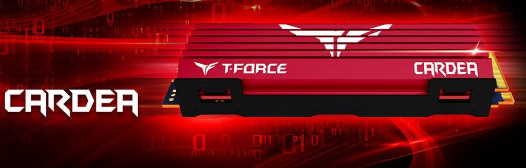 Team T-Force Cardea M.2 – SSD с радиатором