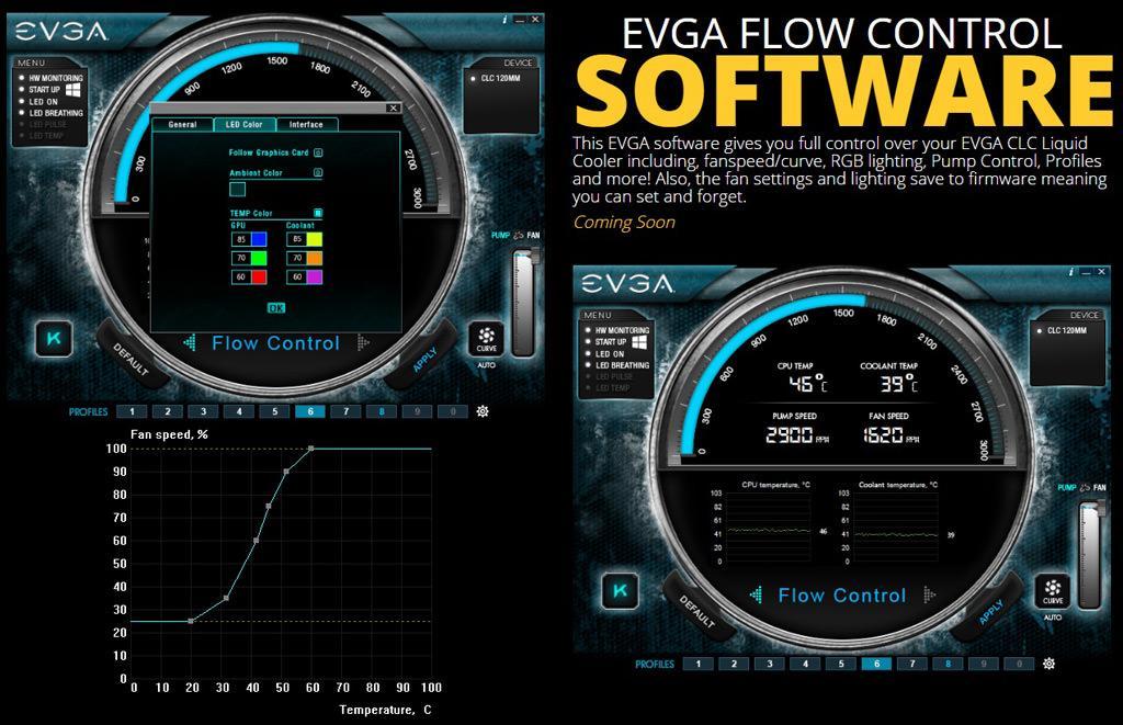 EVGA CLC120 CLC280 3