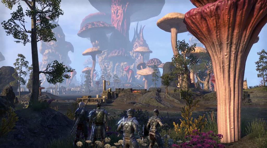 Игру The Elder Scrolls Online в июне ожидает обновление Morrowind