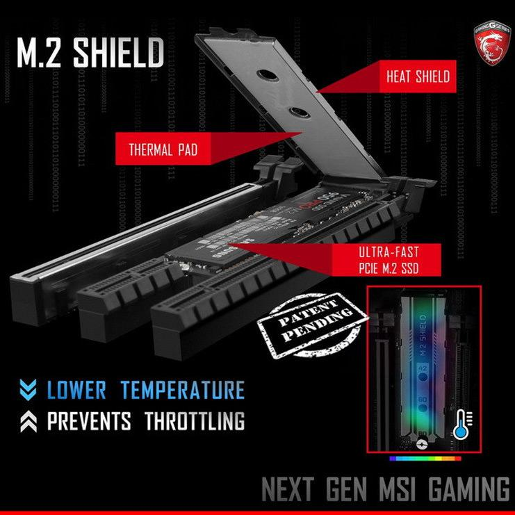 MSI M.2 Shield 1