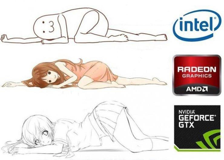 AMD Intel GPU