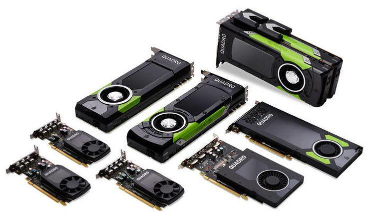 NVIDIA показала всю новую линейку профессиональных видеокарт Quadro