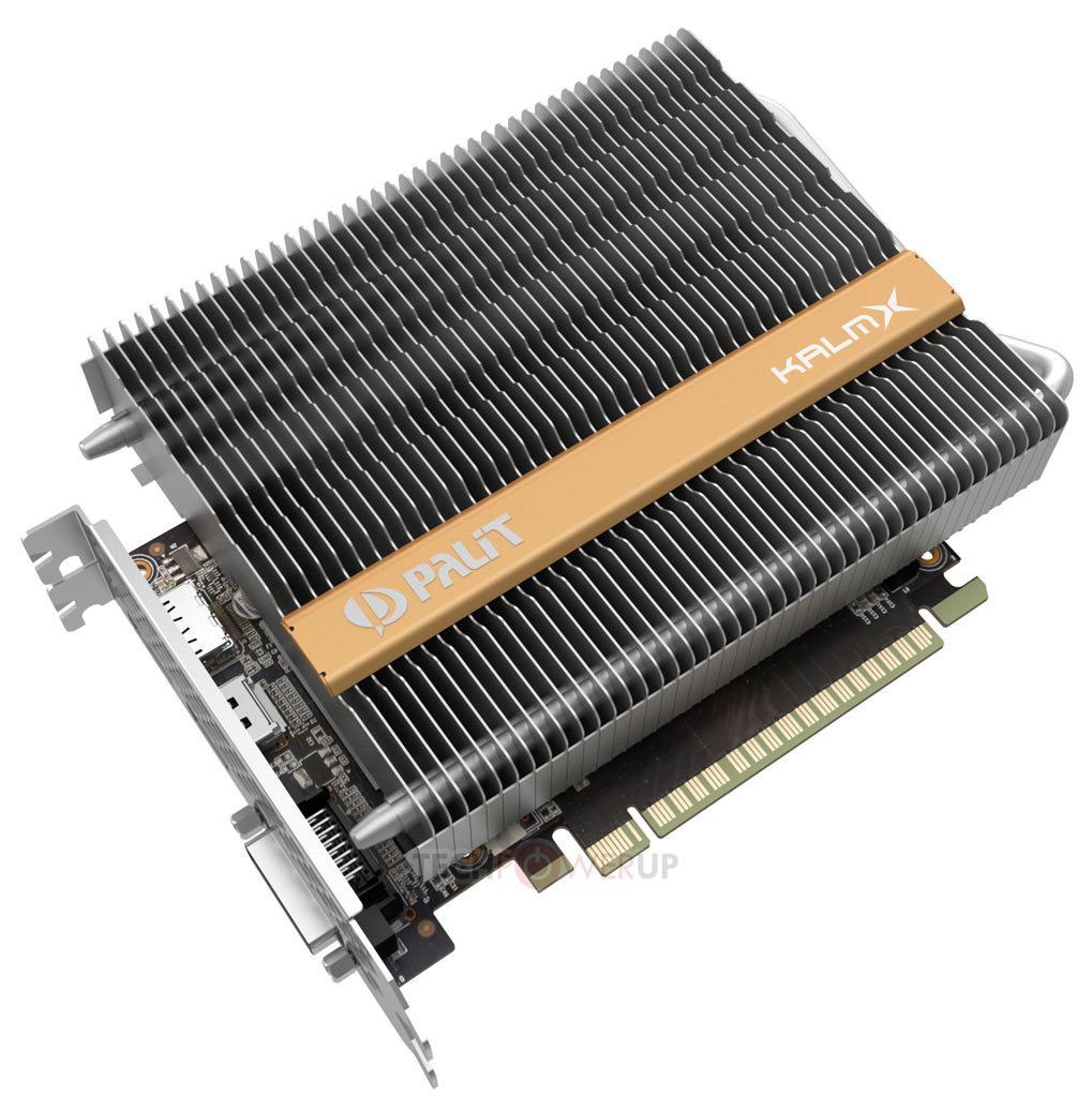 Palit GeForce GTX 1050 Ti KalmX 2