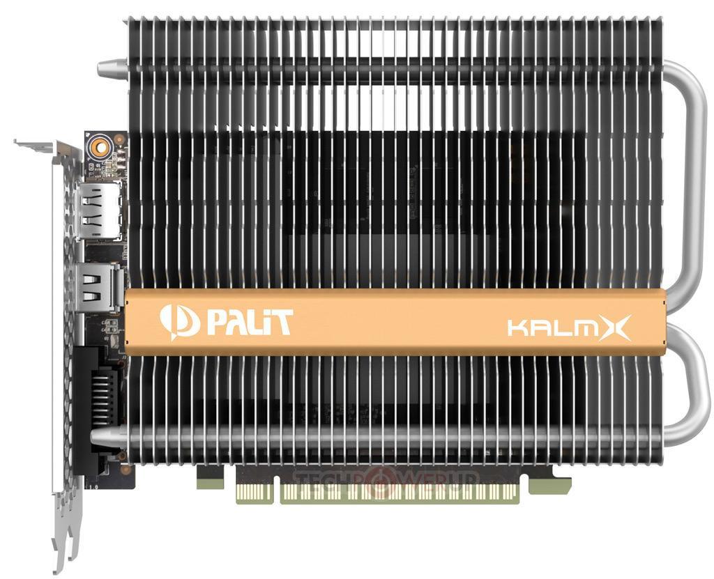Palit GeForce GTX 1050 Ti KalmX 4