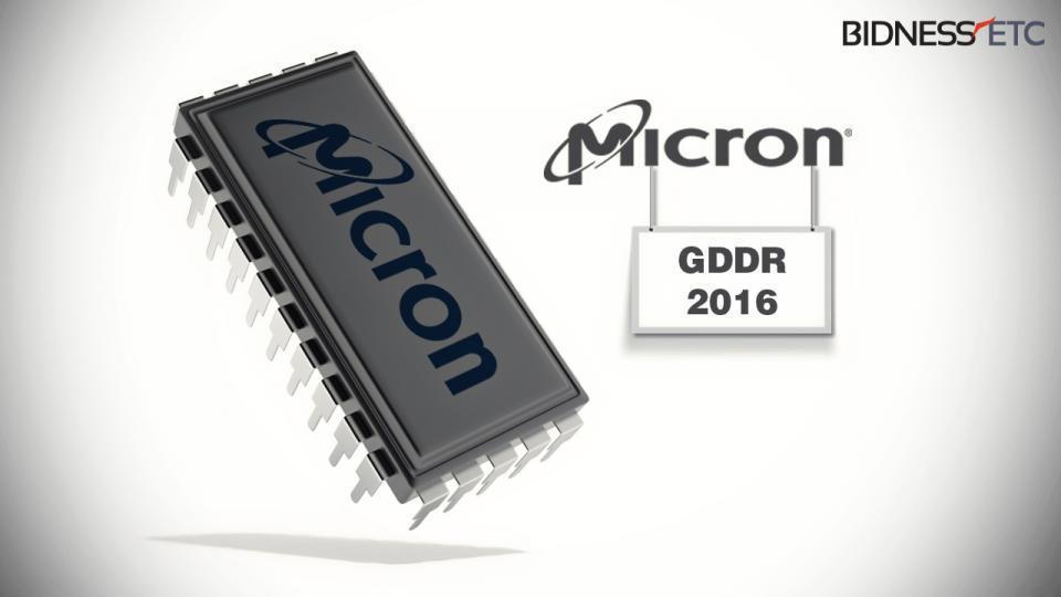 Micron начнет производить видеопамять GDDR6 уже в этом году