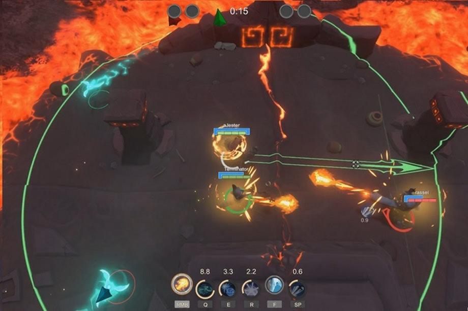 RUiN – отдельная игра по мотивам Warlocks, популярной карты из Warcraft 3