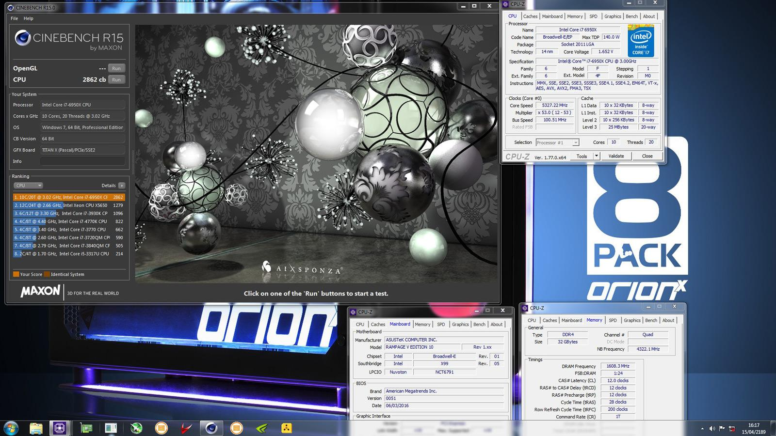 CineBench R15 record 8 pack 2