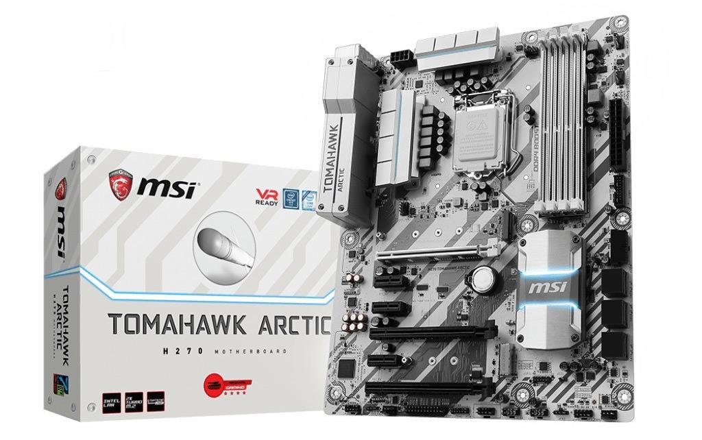MSI Arctic H270 Tomahawk