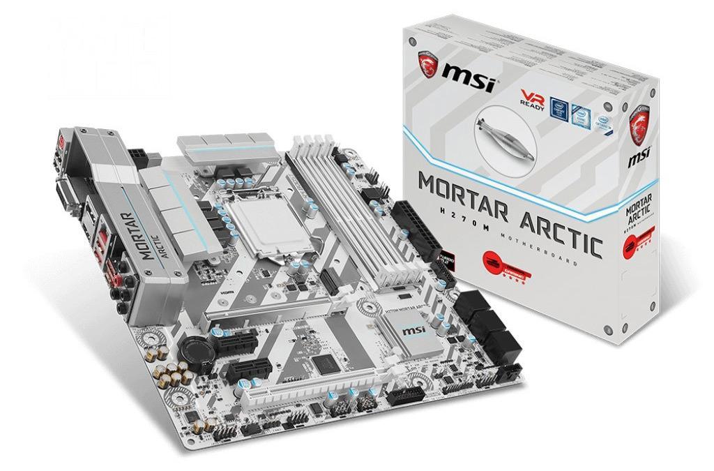MSI Arctic H270M Mortar