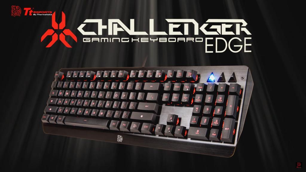 Обзор Tt eSports Challenger Edge. Клавиатура-скелетон с RGB-подсветкой за 40$!