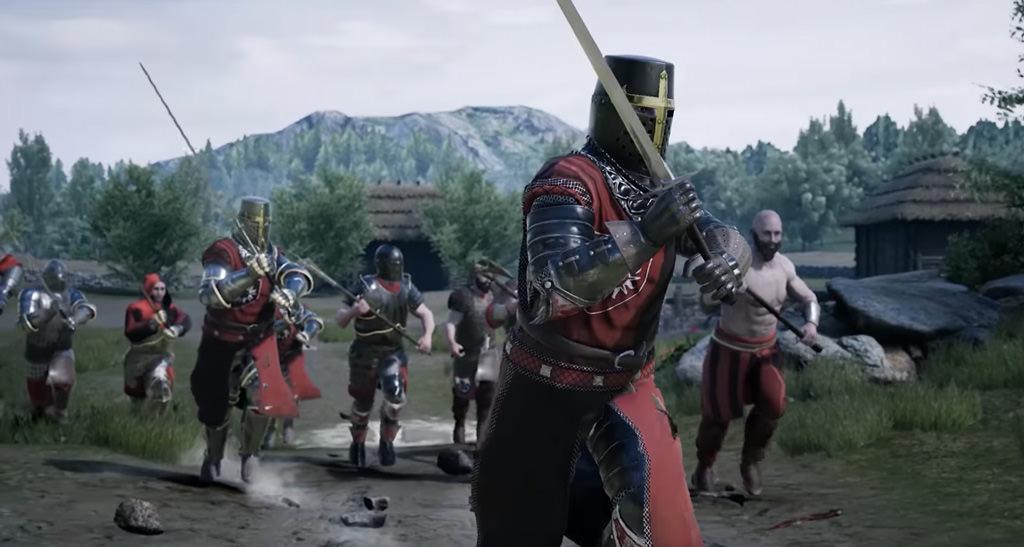 Mordhau — игра о средневековых сражениях с мультиплеером до 64-х игроков в одном бою